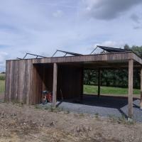 zonnecarport LG zonnepanelen