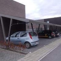 zonnecarport metaal